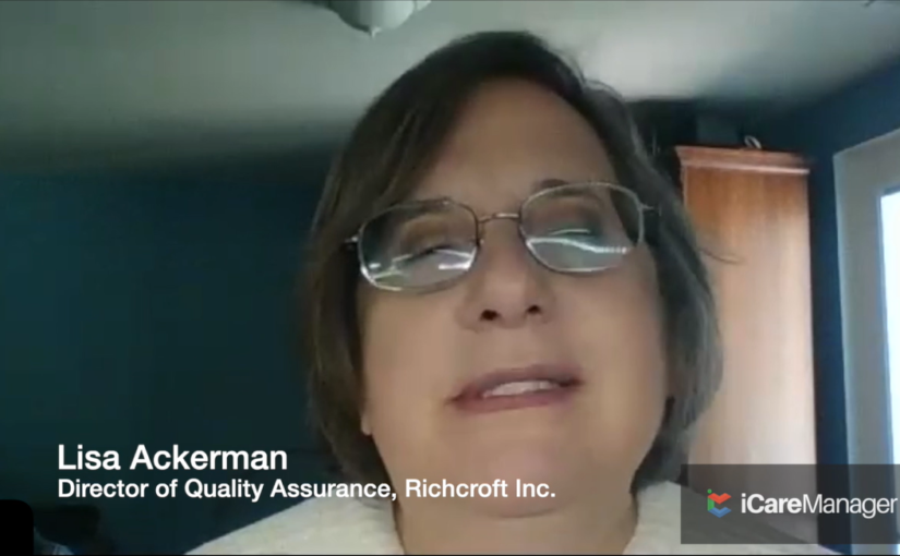 Best Interview Lisa Ackerman - Director of Quality Assurance DDA | iCareManger